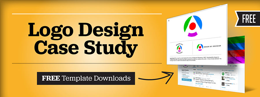 logo design case study free templates for designers