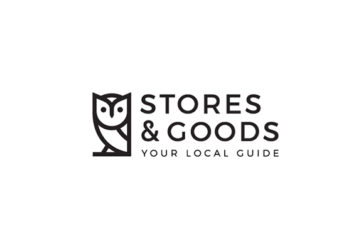 logo - Stores & Goods - Your Local Guide - by designer Dimitrije Mikovic