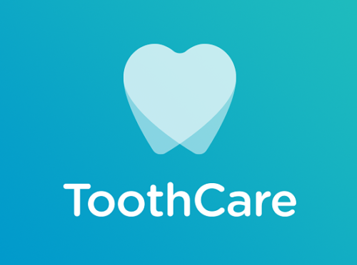 logo for ToothCare designed by Jacob Cass