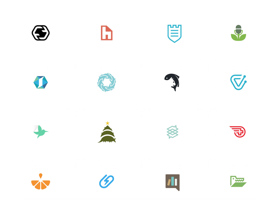 Icons and logos from designer Josiah Jost