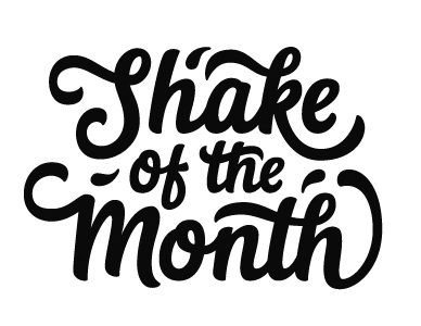 Shake of the Month logo, Paul von Excite