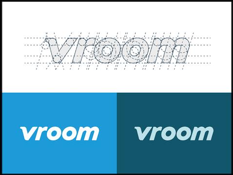 Vroom.com logo examples