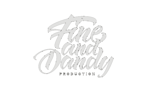 """Fine and Dandy"" lettered logo designer Vivien Birten"